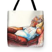 Daddy And Molly Tote Bag