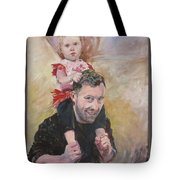 Daddy Ride Tote Bag