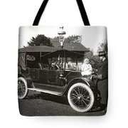 Daddy's Motorized Baby Buggy Tote Bag