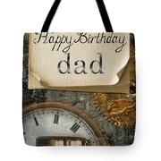 Dad's Birthday Tote Bag