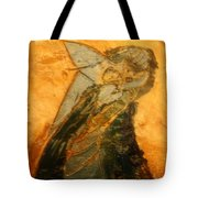 Dads Hug - Tile Tote Bag