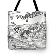 Daedalus And Icarus Tote Bag