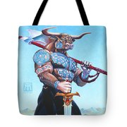 Daedalus Minotaur Of Crete Tote Bag