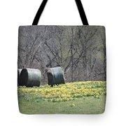 Daffodil Bales Tote Bag