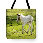 Romping Through The Field Tote Bag