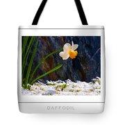 Daffodil Poster Tote Bag