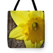 Daffodil Wood Composite Tote Bag