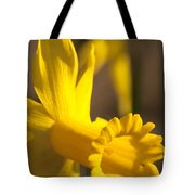 Daffodil Yellow Tote Bag