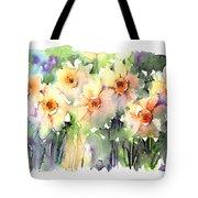Daffodil's Dancing Tote Bag