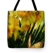 Daffodils - First Flower Of Spring Tote Bag