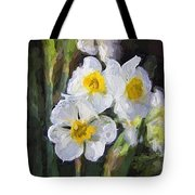 Daffodils In My Garden Tote Bag