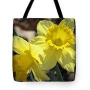 Daffodils In Spring Tote Bag
