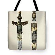 Dagger And Sheath Tote Bag