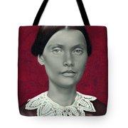 Daguerreotype Lady Detail Tote Bag