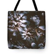 Dahlia Abstraction Tote Bag