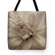 Dahlia Detail Tote Bag