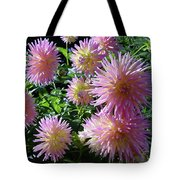 Dahlia Group Tote Bag