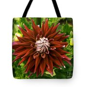 Dahlia In Bloom 18 Tote Bag