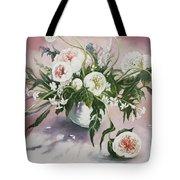Dahlia Vase  Tote Bag