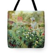 Dahlias Tote Bag