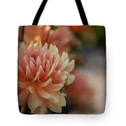 Dahlias Season Tote Bag