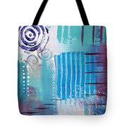 Daily Abstract Four Tote Bag