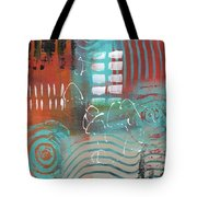 Daily Abstract Week 2, #2 Tote Bag