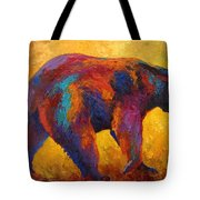 Daily Rounds - Black Bear Tote Bag