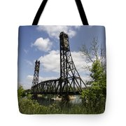 Dain City Railroad Bridge Tote Bag