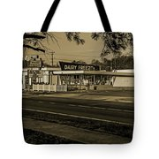 Dairy Freeze Morning Tote Bag