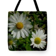 Daisies By The Number Tote Bag