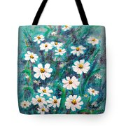 Daisies Golden Eyed Tote Bag
