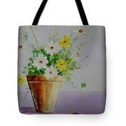 Daisies In Pot Tote Bag