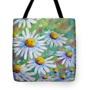 Daisies In Spring Tote Bag
