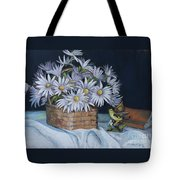 Daisies In Still Life Tote Bag
