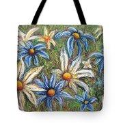 Daisies Pastel Tote Bag
