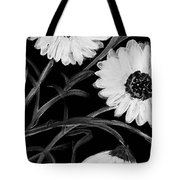 Daisies St Night Tote Bag