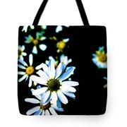 Daisies Tote Bag by Grebo Gray