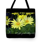Daisy A Day Tote Bag