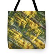 Daisy Abstract Tote Bag
