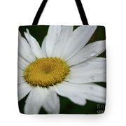 Daisy And Raindrops Tote Bag