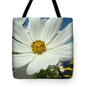 Daisy Flower Garden Artwork Daisies Botanical Art Prints Tote Bag