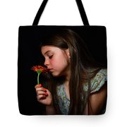 Daisy Girl Tote Bag