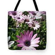 Daisy Patch Tote Bag by Kaye Menner