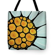 Daisy Tote Bag by Sharon Cummings
