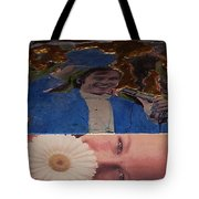 Daisy Side Show Tote Bag
