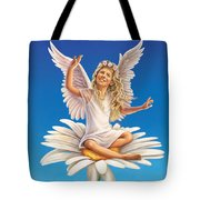 Daisy - Simplify Tote Bag by Anne Wertheim