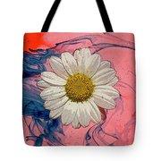 Daisy Swirls 1 Tote Bag