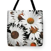 Daisy With A Twist Tote Bag