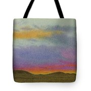 Dakota Sunset Glow Tote Bag